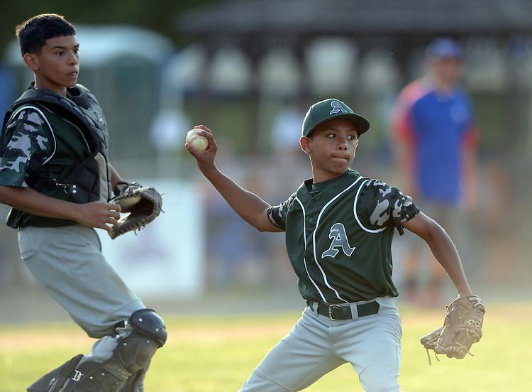 (Holyoke, MA, 06/19/16) Holyoke Allies baseball on Sunday, June 19, 2016. Photo by Christopher Evans