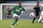 24 September 2013: William and Mary's Marcus Luster. The University of North Carolina Tar Heels hosted the College of William and Mary Tribe at Fetzer Field in Chapel Hill, NC in a 2013 NCAA Division I Men's Soccer match. William and Mary won the game 1-0.
