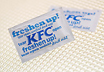 KFC Freshen Up Moist Tissue - Apr 2012.