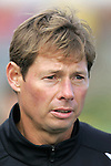 5 November 2006: Wake Forest head coach Jay Vidovich. Duke defeated Wake Forest 1-0 in overtime at the Maryland Soccerplex in Germantown, Maryland in the Atlantic Coast Conference college soccer tournament final.