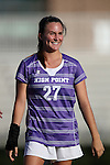 11 September 2016: High Point's Bailey Beattie. The Duke University Blue Devils hosted the High Point University Panthers at Koskinen Stadium in Durham, North Carolina in a 2016 NCAA Division I Women's Soccer match. Duke won the match 4-1.