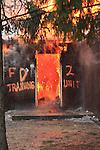 MTFD Training Structure Fire Hamilton Rd. 02/06/11