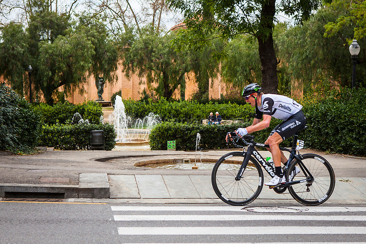 Dimension Data&rsquo;s Kanstantsin Siutsou climbs Montjuic, Barcelona, on the last stage of the Volta Catalunya 2016 cycling race. <br /> <br /> Dimension Data Kanstantsin Siutsou sube Montjuic, Barcelona, en la &uacute;ltima etapa de la carrera ciclista Volta Catalunya 2016.<br /> <br /> Dimension Data Kanstantsin Siutsou puja Montju&iuml;c, Barcelona, en l'&uacute;ltima etapa de la cursa ciclista Volta Catalunya 2016.