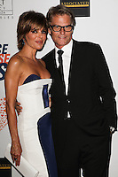 CENTURY CITY, CA, USA - MAY 02: Lisa Rinna, Harry Hamlin at the 21st Annual Race To Erase MS Gala held at the Hyatt Regency Century Plaza on May 2, 2014 in Century City, California, United States. (Photo by Celebrity Monitor)