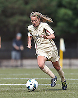 After two overtime periods, Boston College tied University of Central Florida, 2-2, at Newton Campus Field, September 9, 2012.