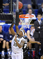 Nasir Robinson of the Panthers gets an easy bucket. Butler upset no.1 seed Pittsburgh 71-70 during the 3rd round of the NCAA Tournament at the Verizon Center in Washington, D.C on Saturday, March 19, 2011. Alan P. Santos/DC Sports Box