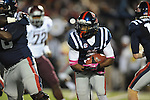 Ole Miss running back Jeff Scott (3) vs. Texas A&amp;M in Oxford, Miss. on Saturday, October 6, 2012. Texas A&amp;M won 30-27...