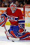 3 February 2007: Montreal Canadiens goaltender Cristobal Huet of France warms up prior to facing the New York Islanders at the Bell Centre in Montreal, Canada. The Islanders defeated the Canadiens 4-2.Mandatory Photo Credit: Ed Wolfstein Photo *** Editorial Sales through Icon Sports Media *** www.iconsportsmedia.com