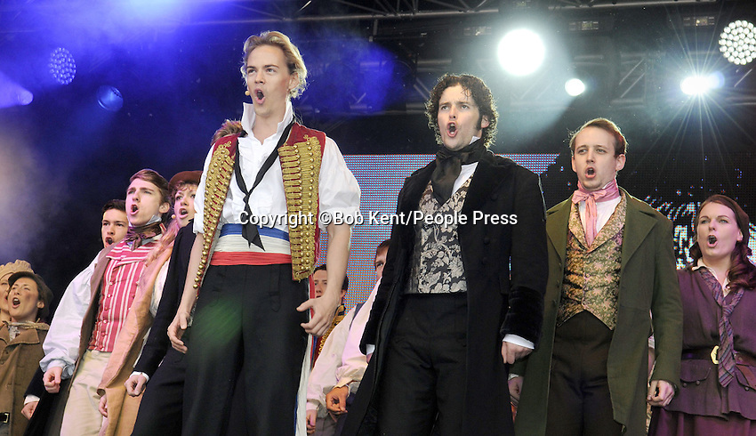 Performances from a range of West End Musical shows on day one of the free event 'West End Live' at Trafalgar Square, London - June 22nd 2013<br /> <br /> Photo by Bob Kent