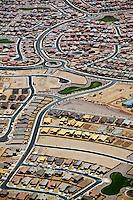 aerial photograph of residential development, Phoenix, Arizona