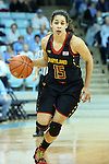 03 January 2013: Maryland's Chloe Pavlech. The University of North Carolina Tar Heels played the University of Maryland Terrapins at Carmichael Arena in Chapel Hill, North Carolina in an NCAA Division I Women's Basketball game. UNC won the game 60-57.