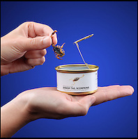 BNPS.co.uk (01202 558833)<br /> Pic: ThinkGeek/BNPS<br /> <br /> ***Please use full byline***<br /> <br /> Move over, peanuts...<br /> <br /> Crickets, worms and dung beatles could soon become a staple part of our diet.<br /> <br /> A range of tasty treats made entirely from insects have hit the shelves - and are now threatening to replace institutional bar snacks as the pub goer's food of choice.<br /> <br /> Iconic nibbles like pork scratchings, dry roasted peanuts and scampi fries could soon be making way for bacon and cheese grasshoppers, barbecue worms and salted ants.<br /> <br /> Other baked bug bites on offer include sour cream and onion dung beetles, seaweed flavoured scorpions, wasabi crickets and waterbug chilli paste.
