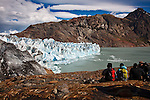 Glacier Viedma, in Parque Nacionales los Glaciares, Argentina.