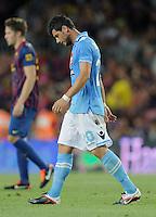 FUSSBALL  INTERNATIONAL   SAISON 2011/2012   22.08.2010 Gamper Cup FC Barcelona - SSC Neapel Blerim Dzemaili (Napoli)