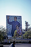 Billboard With Mao and Child