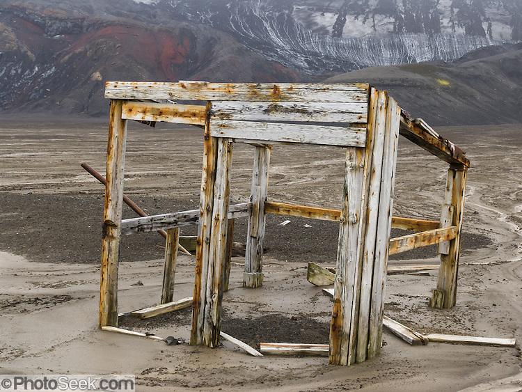 Deception Island whaling factory 1910-1931, South Shetland ...
