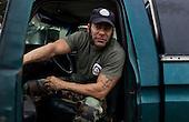 Jacksonville, Florida<br /> November 6, 2013<br /> <br /> Veteran's sustainable farm founded by Purple Heart veteran Adam Burke and managed by Afghan and Iraqi veteran Steve Ellseberry.<br /> <br /> US Navy veteran Pat Sanders in his truck.