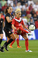 Canada forward Kelly Parker (15) in action.