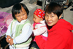 Asia, China, Beijing. Children of the hutongs in Beijing.