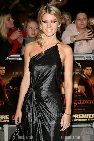 Melanie Slade arriving for the UK premiere of The Twilight Saga: Breaking Dawn Part 1 at Westfield Stratford City, London. 17/11/2011 Picture by: Alexandra Glen / Featureflash