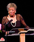 WATERBURY, CT--31 MAY 2006 -053106JS10-Dr. Maya Angelou speaks to a sold-out show at the Palace Theater in Waterbury on Wednesay evening.   -- Jim Shannon Republican-American