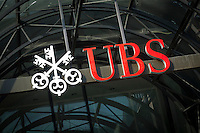 UBS Financial Services Sign.