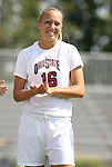 23 September 2007: Ohio State's Ashley Bowyer. The Duke University Blue Devils defeated the Ohio State University Buckeyes 2-1 at Koskinen Stadium in Durham, North Carolina in an NCAA Division I Women's Soccer game, and part of the annual Duke Adidas Classic tournament.
