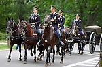 Caisson Platoon, Arlington National Cemetery, Arlington, Virginia
