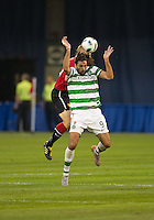 16 July 2010 Celtic FC Georgios Samaras No. 9 in action during an international friendly  between Manchester United and Celtic FC at the Rogers Centre in Toronto..Manchester United won 3-1.