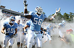 02 September 2006: UNC's Garrett White (56) before the game. The University of North Carolina Tarheels lost 21-16 to the Rutgers Scarlett Knights at Kenan Stadium in Chapel Hill, North Carolina in an NCAA Division I College Football game.