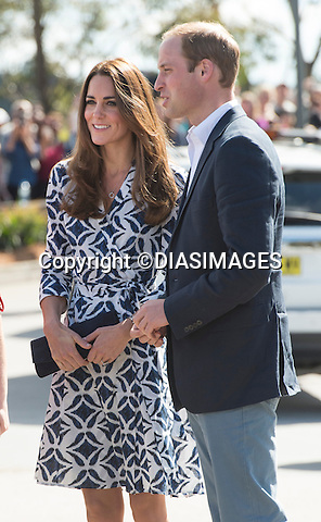 KATE AND PRINCE WILLIAM<br /> visited Echo Point in the Blue Mountains, viewing the Three Sisters and carrying out a walkabout.<br /> The Royal couple are on a tour of Australia_17/04/2014<br /> Mandatory Photo Credit: &copy;DIASIMAGES<br /> <br /> &quot;NO UK SALES UNTIL 15th May 2014&quot;<br /> **ALL FEES PAYABLE TO: &quot;NEWSPIX INTERNATIONAL&quot;**<br /> <br /> PHOTO CREDIT MANDATORY!!: NEWSPIX INTERNATIONAL(Failure to credit will incur a surcharge of 100% of reproduction fees)<br /> <br /> IMMEDIATE CONFIRMATION OF USAGE REQUIRED:<br /> Newspix International, 31 Chinnery Hill, Bishop's Stortford, ENGLAND CM23 3PS<br /> Tel:+441279 324672  ; Fax: +441279656877<br /> Mobile:  0777568 1153<br /> e-mail: info@newspixinternational.co.uk
