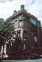 Hector Guimard: Hotel Guimard, 122 Avenue Mozart, 1909-1910. Guimard's own home. Photo '90.