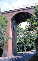London: Railway Viaduct somewhere near Hampstead. (I was walking.)
