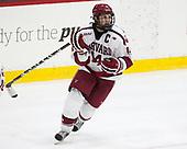 Alexander Kerfoot (Harvard - 14) - The Harvard University Crimson defeated the visiting Cornell University Big Red on Saturday, November 5, 2016, at the Bright-Landry Hockey Center in Boston, Massachusetts.