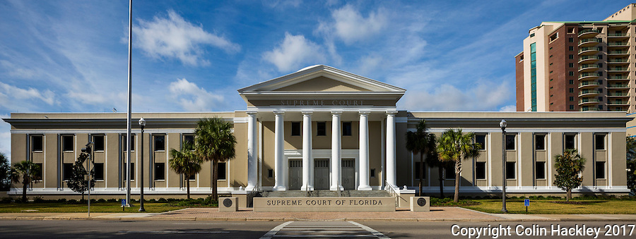 TALLAHASSEE, FLA. 1/4/17-The Florida Supreme Court building in Tallahassee.<br /><br />COLIN HACKLEY PHOTO