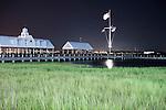 Charleston Waterfront Park Pier at night