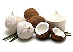 Coconut still life.