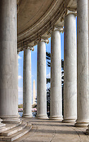 Jefferson Memorial Washington Monument Washington DC Architecture