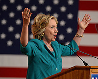 Hillary Rodham Clinton Speaks On Cuban Embargo