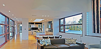 Modern Home, 733 Daniels Lane, designed by Charles Gwathmey, Sagaponack, New York
