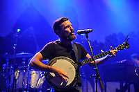LONDON, ENGLAND - AUGUST 30: Scott Avett of 'The Avett Brothers' performing at Shepherd's Bush Empire on August 30, 2016 in London, England.<br /> CAP/MAR<br /> &copy;MAR/Capital Pictures /MediaPunch ***NORTH AND SOUTH AMERICAS ONLY***