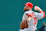 7 March 2012: St. Louis Cardinals pitcher Jason Motte on the mound against the Washington Nationals at Space Coast Stadium in Viera, Florida. The teams battled to a 3-3 tie in Grapefruit League Spring Training action. Mandatory Credit: Ed Wolfstein Photo