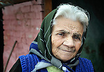 Mira Durkic, a Roma resident of Backo Gradiske, Serbia.
