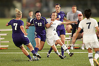SAN ANTONIO, TX - SEPTEMBER 23, 2011: The Weber State University Wildcats vs. The University of Texas at San Antonio Roadrunners Women's Soccer at Roadrunner Field. (Photo by Jeff Huehn)