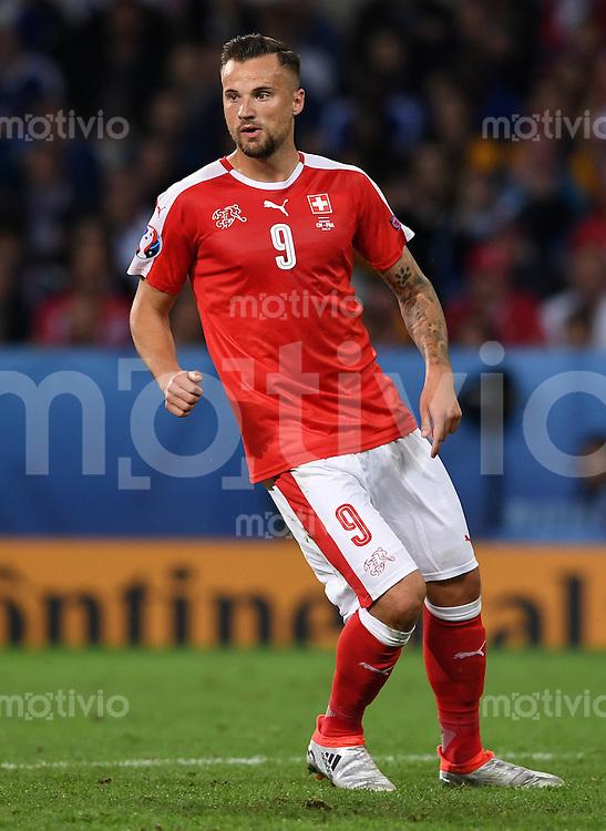 FUSSBALL EURO 2016 GRUPPE A IN LILLE Schweiz - Frankreich     19.06.2016 Haris Seferovic (Schweiz)