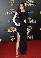 LOS ANGELES, CA. October 20, 2016: Lydia Hearst at the world premiere of Marvel Studios' &quot;Doctor Strange&quot; at the El Capitan Theatre, Hollywood.<br /> Picture: Paul Smith/Featureflash/SilverHub 0208 004 5359/ 07711 972644 Editors@silverhubmedia.com