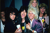 Ron Cordy, Nadir D'Priest, C C Deville, Rikki Rockett,