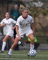 Boston College midfielder Kristen Mewis (19) at midfield.  Boston College defeated Marist College, 6-1, in NCAA tournament play at Newton Campus Field, November 13, 2011.
