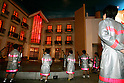 "KIDZANIA TOKYO, ""Edutainment City"",.children putting out a fire."