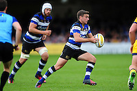George Ford of Bath Rugby in possession. Aviva Premiership match, between Bath Rugby and Worcester Warriors on September 17, 2016 at the Recreation Ground in Bath, England. Photo by: Patrick Khachfe / Onside Images